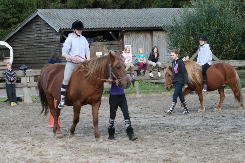 stoelendans te paard
